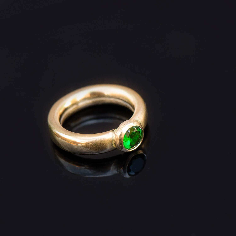 צילום מוצר טבעת זהב