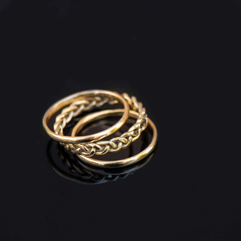 צילום מוצר טבעות זהב