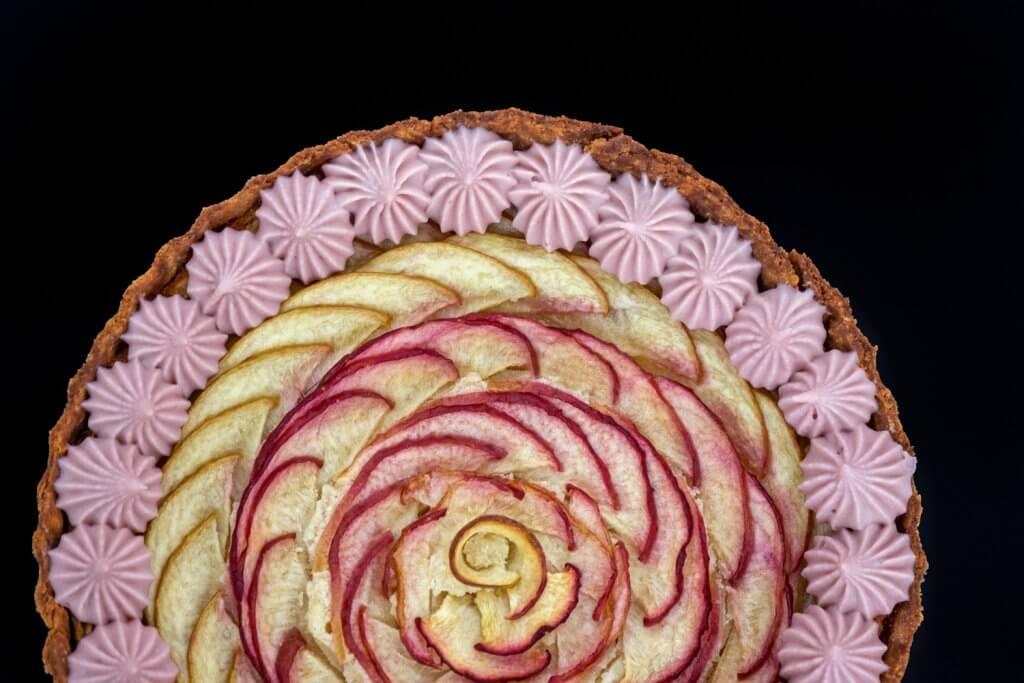 צילום מזון פאי פירות